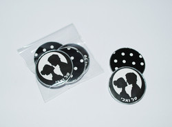 מטבעות שוקולד מעוצבים