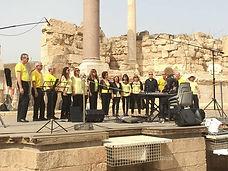 שרים בגן לאומי בית שאן