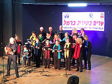 לייב שרים בטירת כרמל 2020