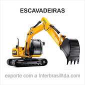 Venda de escavadeiras para exportação