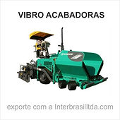 Export of machinery for paving