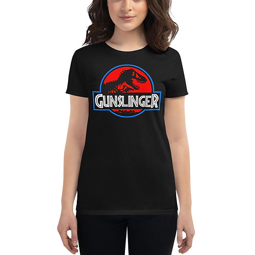 Lady Gunslinger Patriot Fitted Tee
