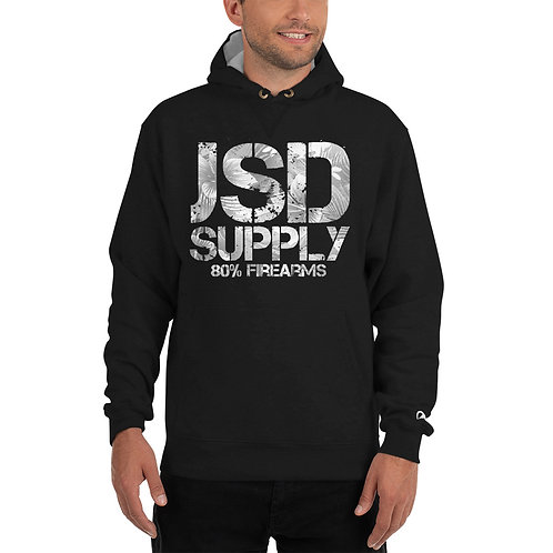 JSD Supply Distressed Floral Hood
