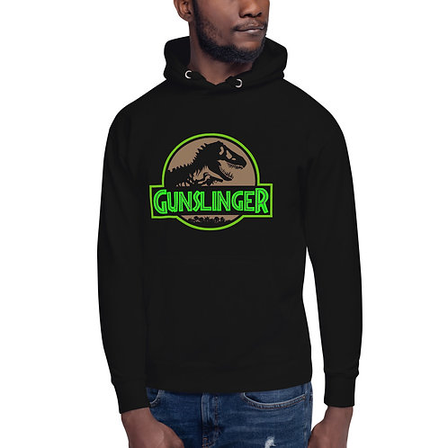 Gunslinger Ghostly Green Hoodie