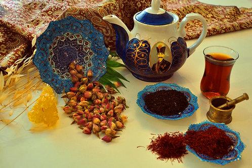 Mix Tè Nero Zafferano e Boccioli di Rosa