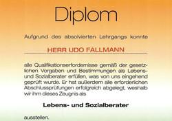Diplom Lebens. & Sozialberater