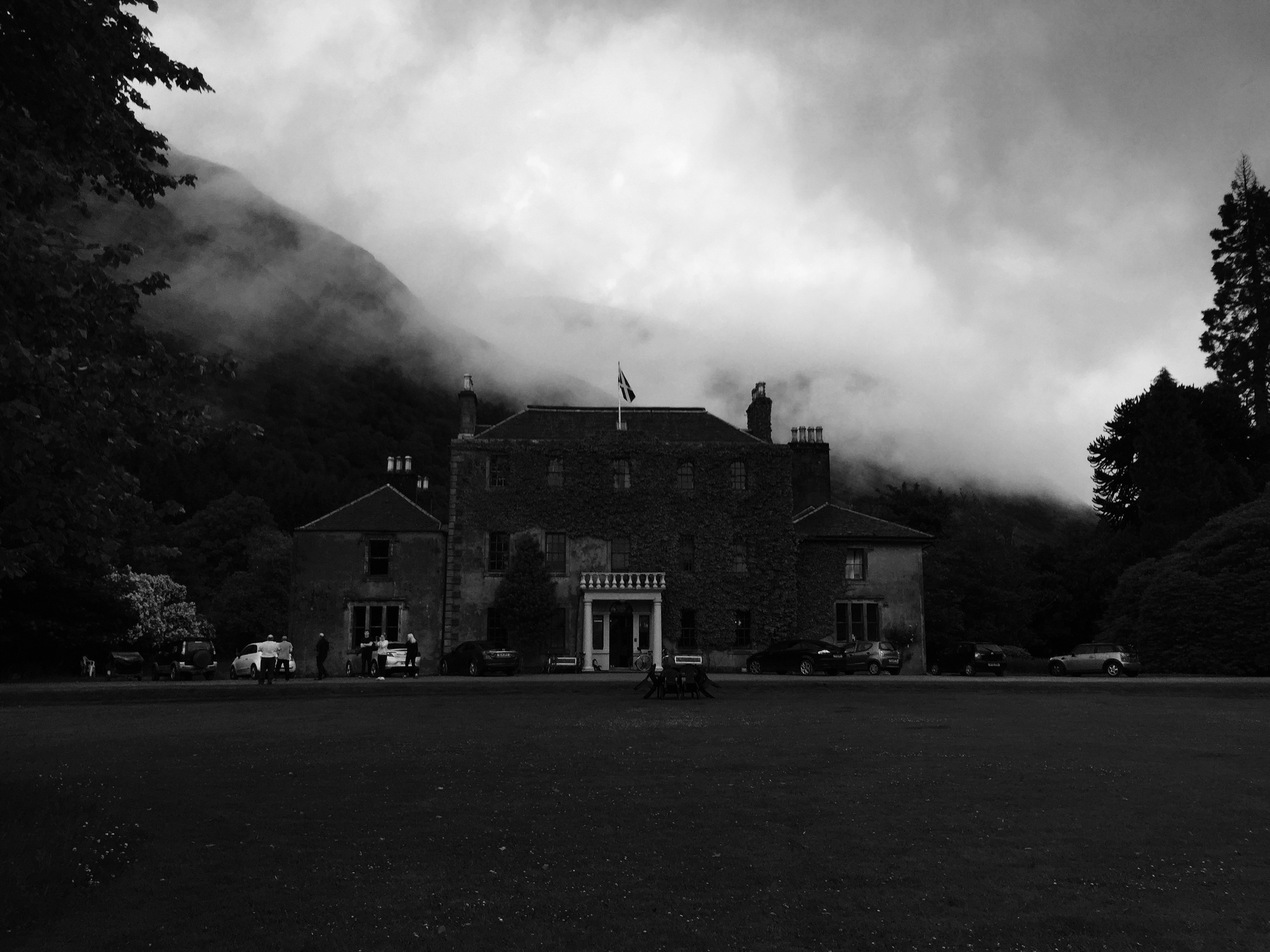 Ardgour House in the Mist