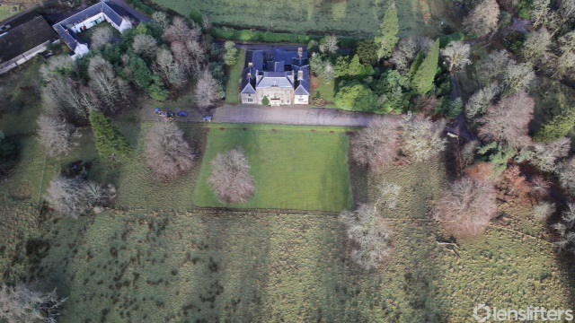 Birdseye view of Ardgour House