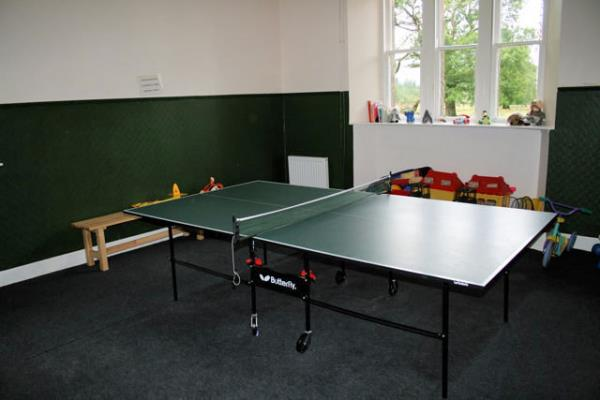 Play Room with Table Tennis