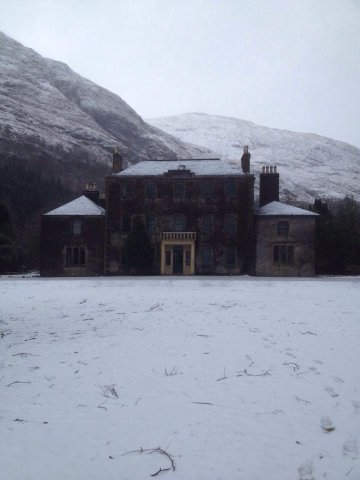 Ardgour House at Christmas
