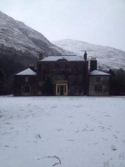 Ardgour House at Christmas