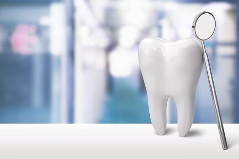 歯とミラー