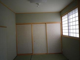 健康素材使用の和室
