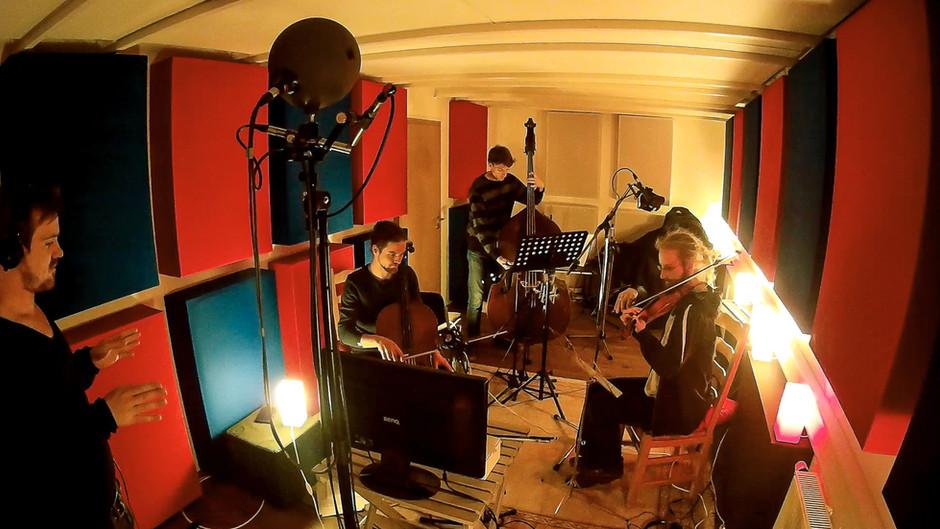 stringrecording with veit steinmann, paul bremen, jakob kühnemann and patrick leuchter