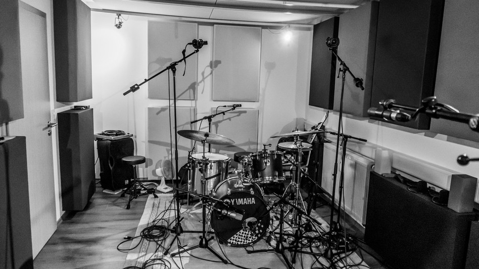 drumrecording with jonas vollmer and luis reichard