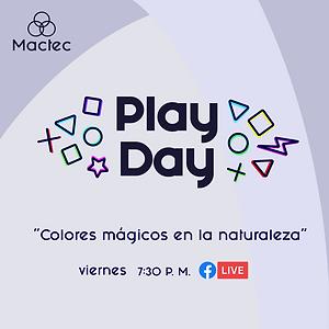 Play Day #2: Colores Mágicos en la naturaleza