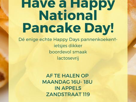 Lichtmis ... Nationale Pannenkoekendag !