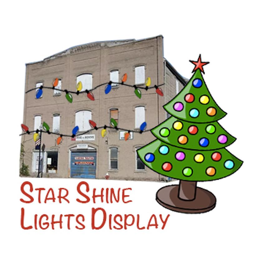 Star Shine Lights Display