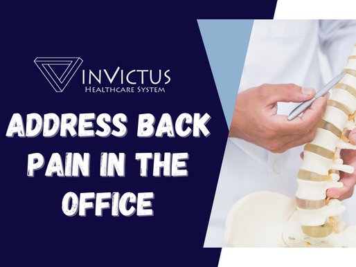Address Back Pain Before it Disrupts Your Work