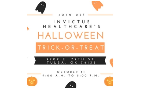 Trick or Treat with Invictus!