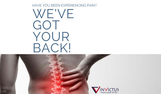 Issues Managing Your Pain? We've Got Your Back
