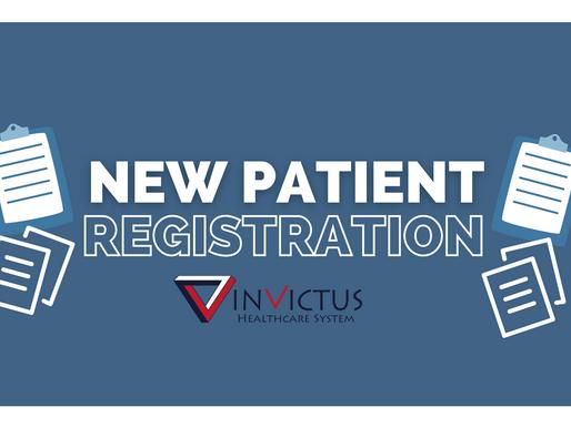 Online New Patient Registration