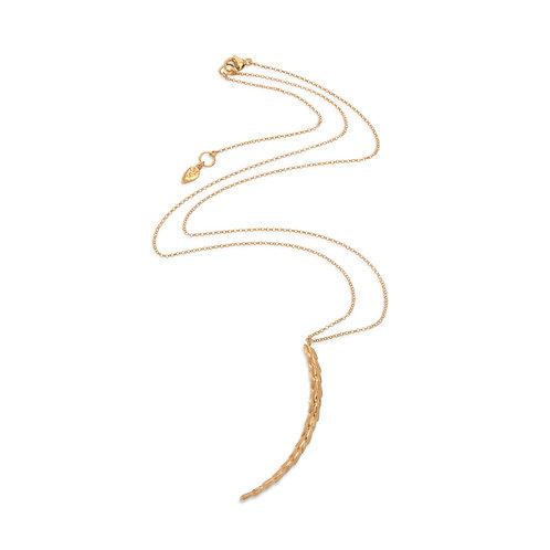 The Viper Necklace Medium - Gold