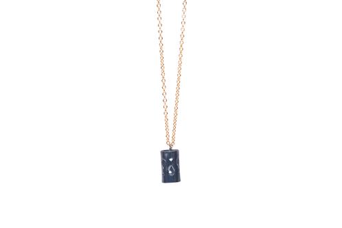Marina Skia: Art Deco Fluidity Necklace Medium   Jewelry,Jewelry > Necklaces -  Hiphunters Shop