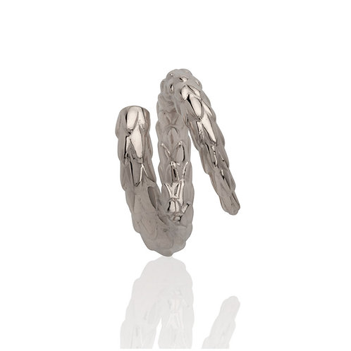 The Viper Tail Ring - Silver