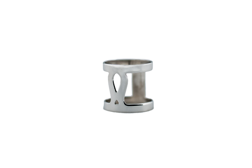 Marina Skia: Art Deco Fluidity Ring Narrow - Silver | Jewelry,Jewelry > Rings -  Hiphunters Shop