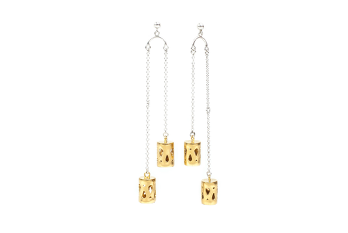 Marina Skia: Art Deco Fluidity Chandelier Earring | Jewelry,Jewelry > Earrings -  Hiphunters Shop