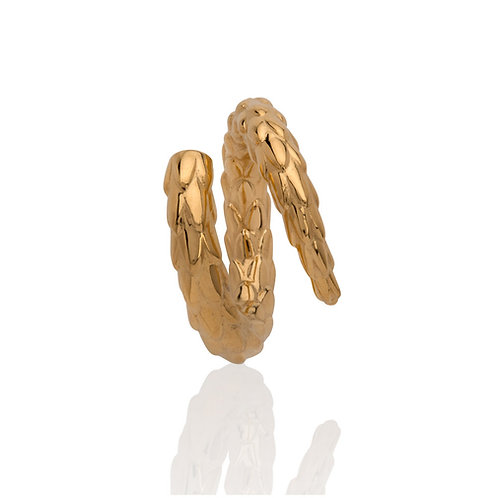 The Viper Tail Ring - Gold