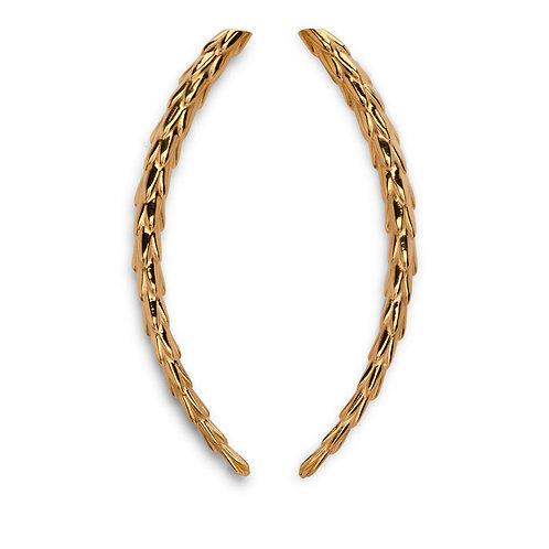 The Viper Earring Long - Gold