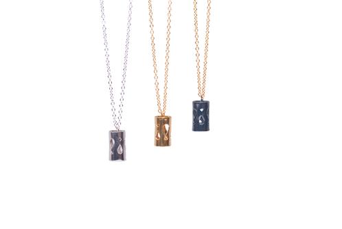 Art Deco Fluidity Necklace Medium