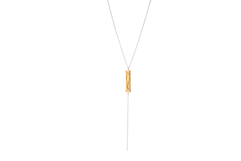 Marina Skia: Art Deco Fluidity Lariat Necklace | Jewelry,Jewelry > Necklaces -  Hiphunters Shop