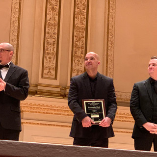 LM wins gold at Carnegie Hall