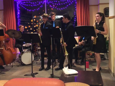 LMHS Jazz Combo at HVL Donor Event