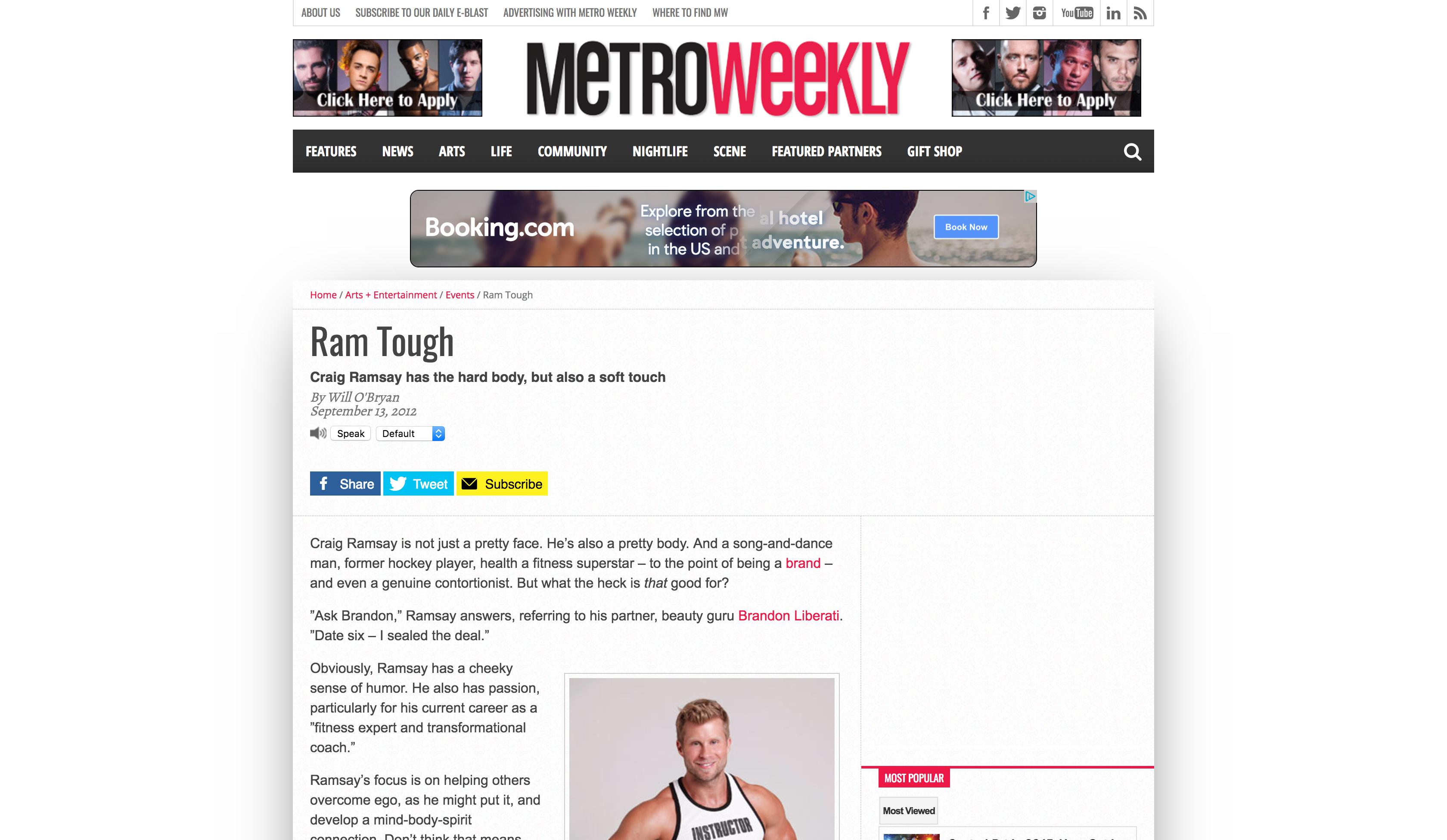 Metro Weekly