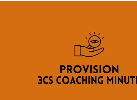 3Cs Coaching Minute--Is This a Crisis?