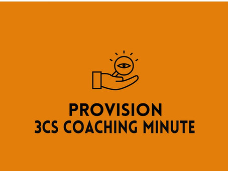 3Cs Coaching Minute--Your Communication Toolbox