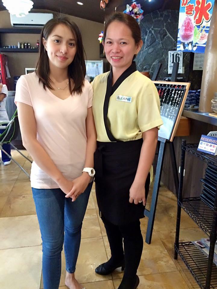 Ms. Christine Reyes @ Hanakazu