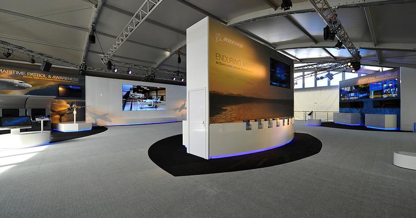 Exhibition stands, large format prints.j