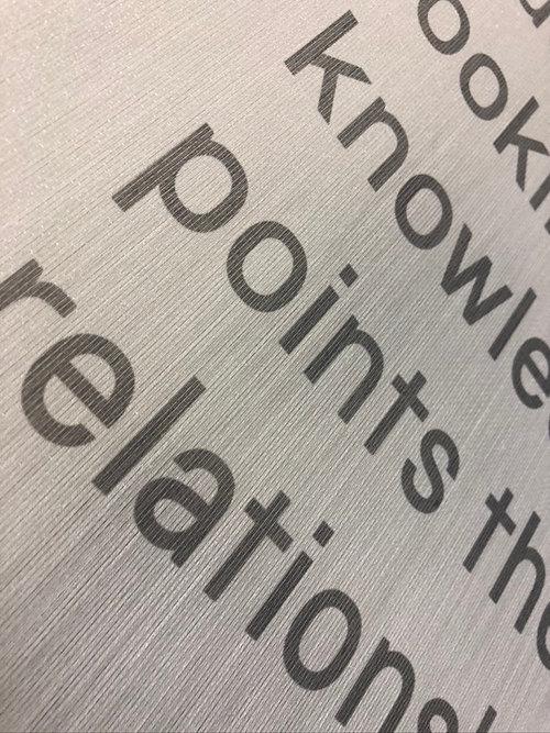 Print to translucent fabric