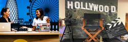TV Backdrops & Press Sets