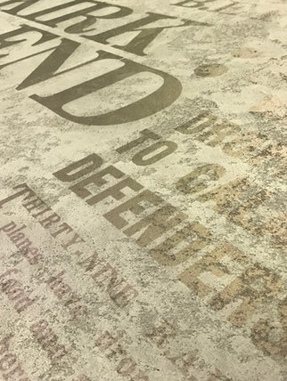 Print onto Simulated Concrete