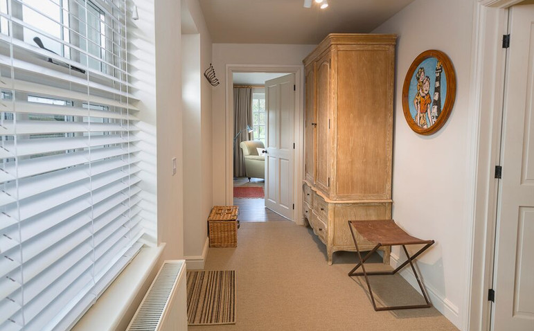 Spacious hall with ample storage