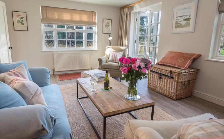 Garden Cottage living room