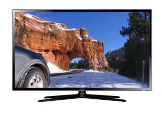 "60"" Samsung 3D LED TV"