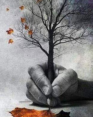 arbre écriture créativité