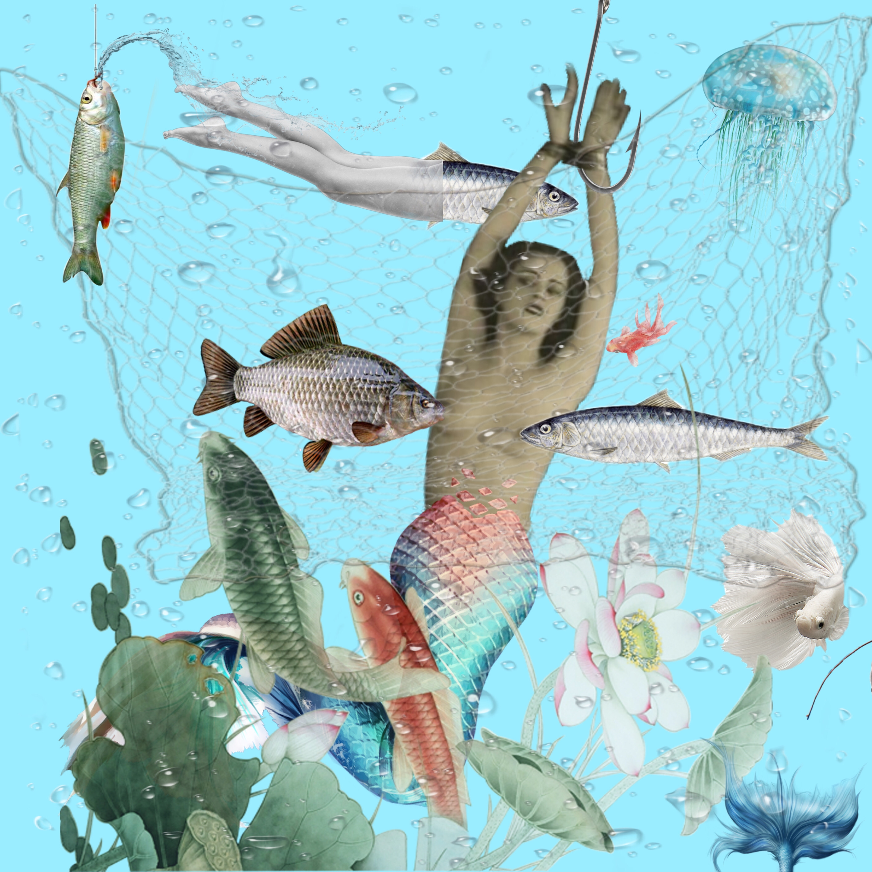 femme poisson